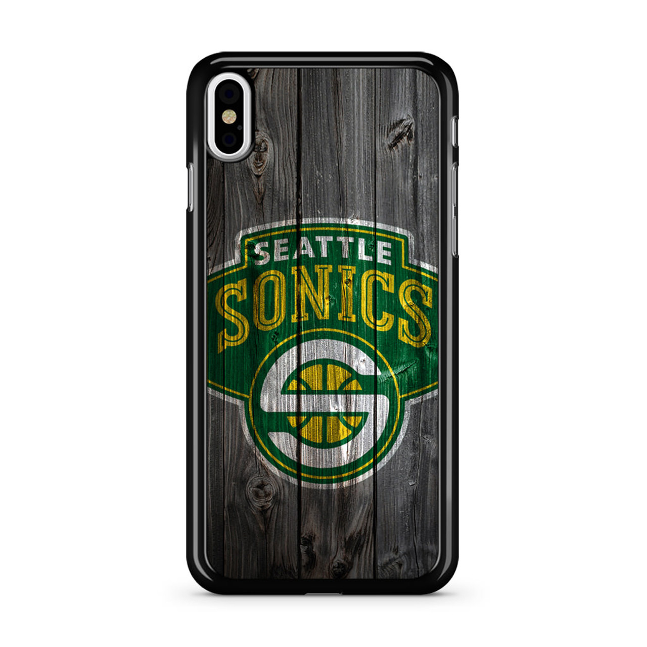 Seattle Sonics Wood iPhone XS Max Case