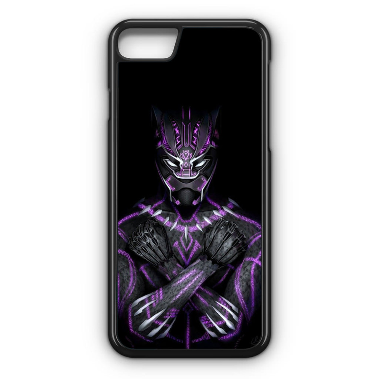 free shipping 586e3 7b3d7 Black Panther Wakanda Forever iPhone 7 Case