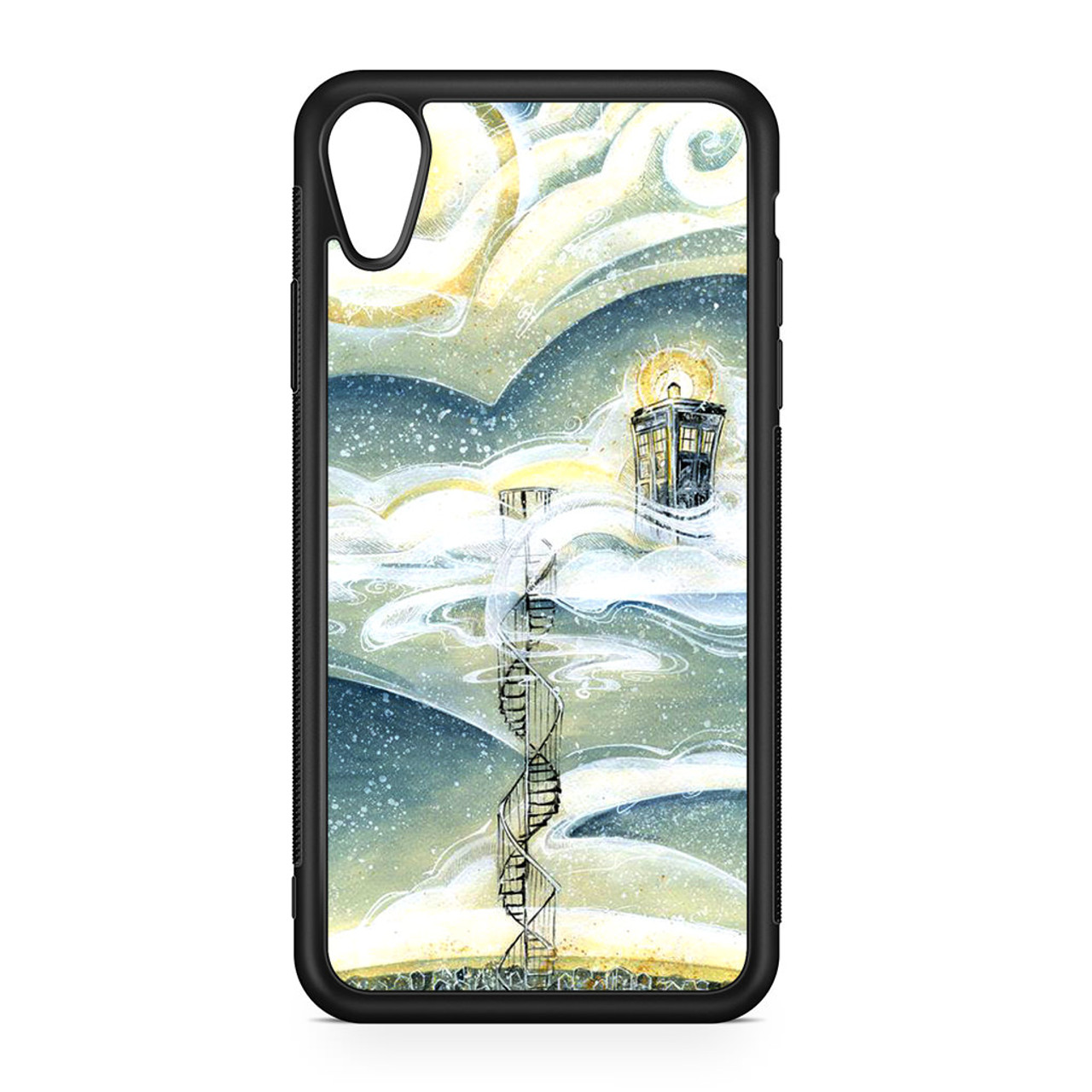 Tardis Cloud iPhone XR Case