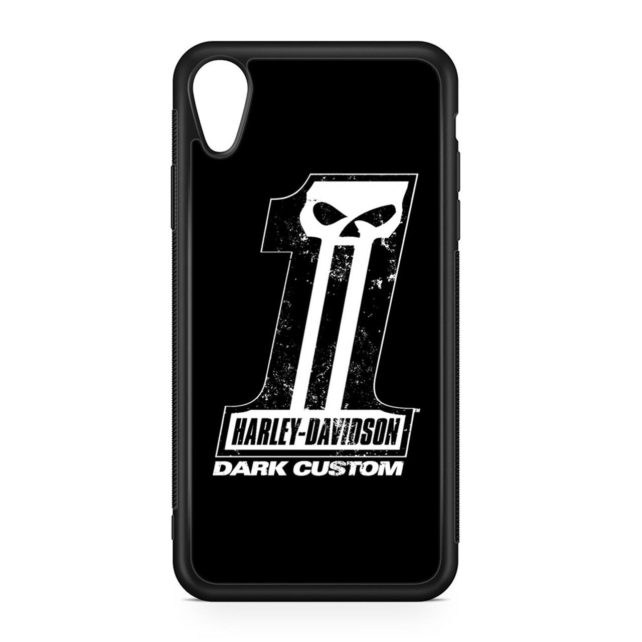 Harley Davidson Dark Custom Iphone Xr Case