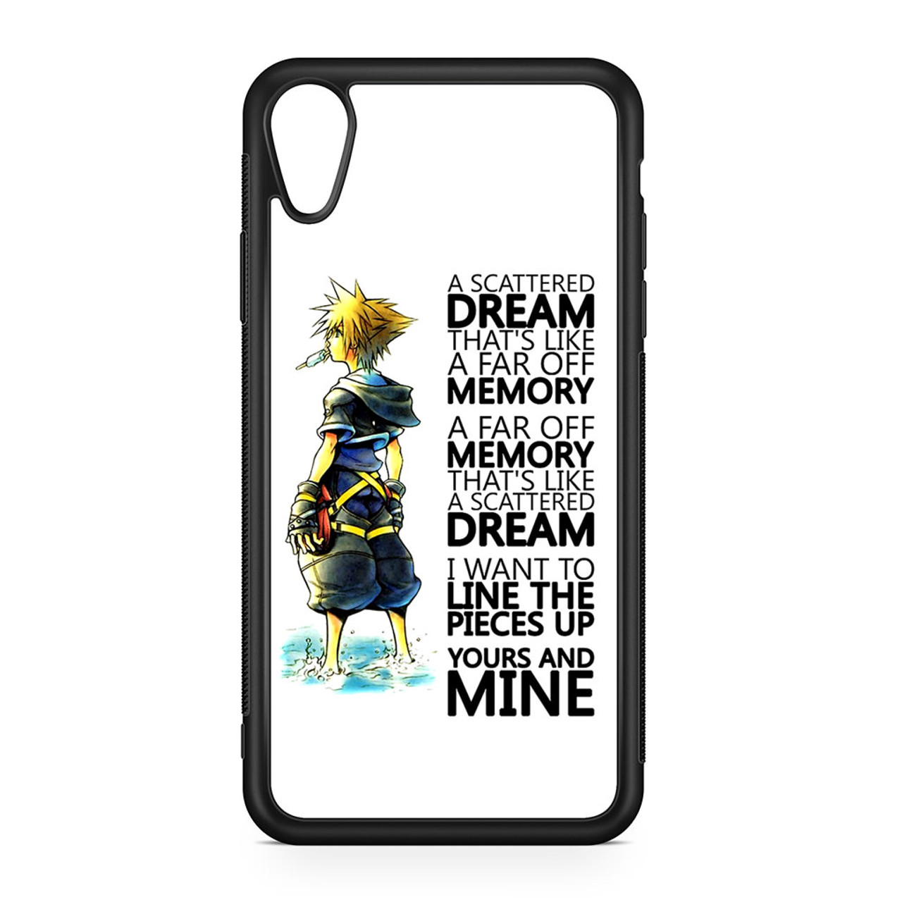Kingdom Hearts Quotes | Kingdom Hearts Quotes Iphone Xr Case Caseshunter