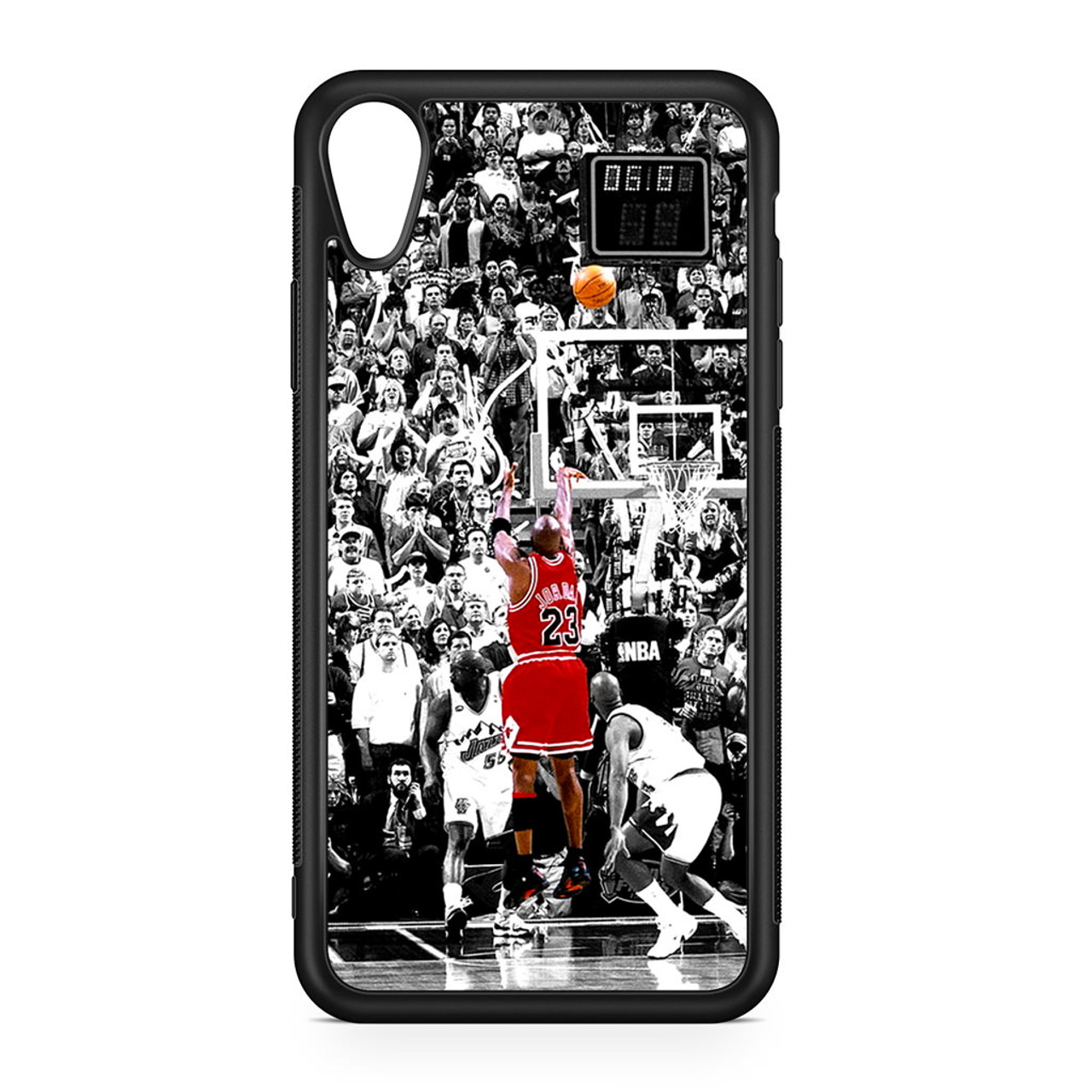 pretty nice 6ed77 0cd3e Michael Jordan Shoot in NBA iPhone XR Case