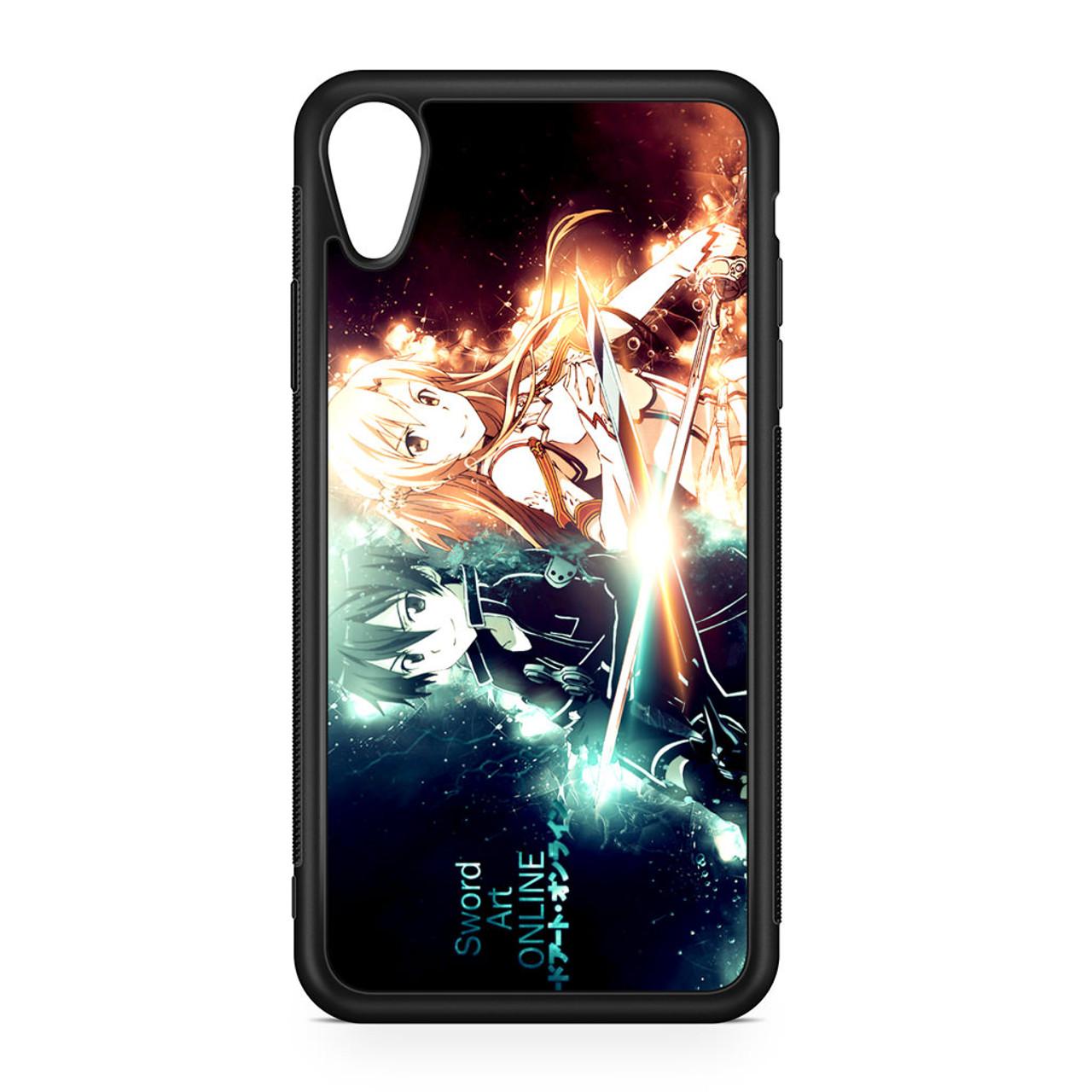 half off 8b8c7 c828c Sword Art Online Kirito and Asuna iPhone XR Case