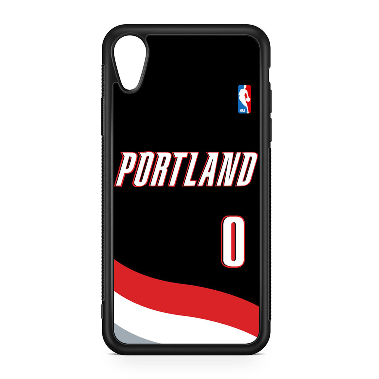 half off 08e46 5e7f8 Damian Lillard Jersey iPhone XR Case