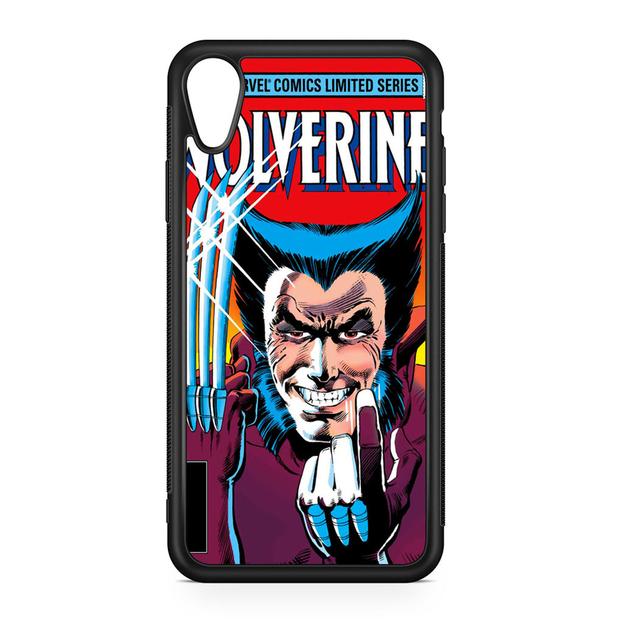 brand new f14b4 ed3f0 Marvel Comics Cover Wolverine iPhone XR Case