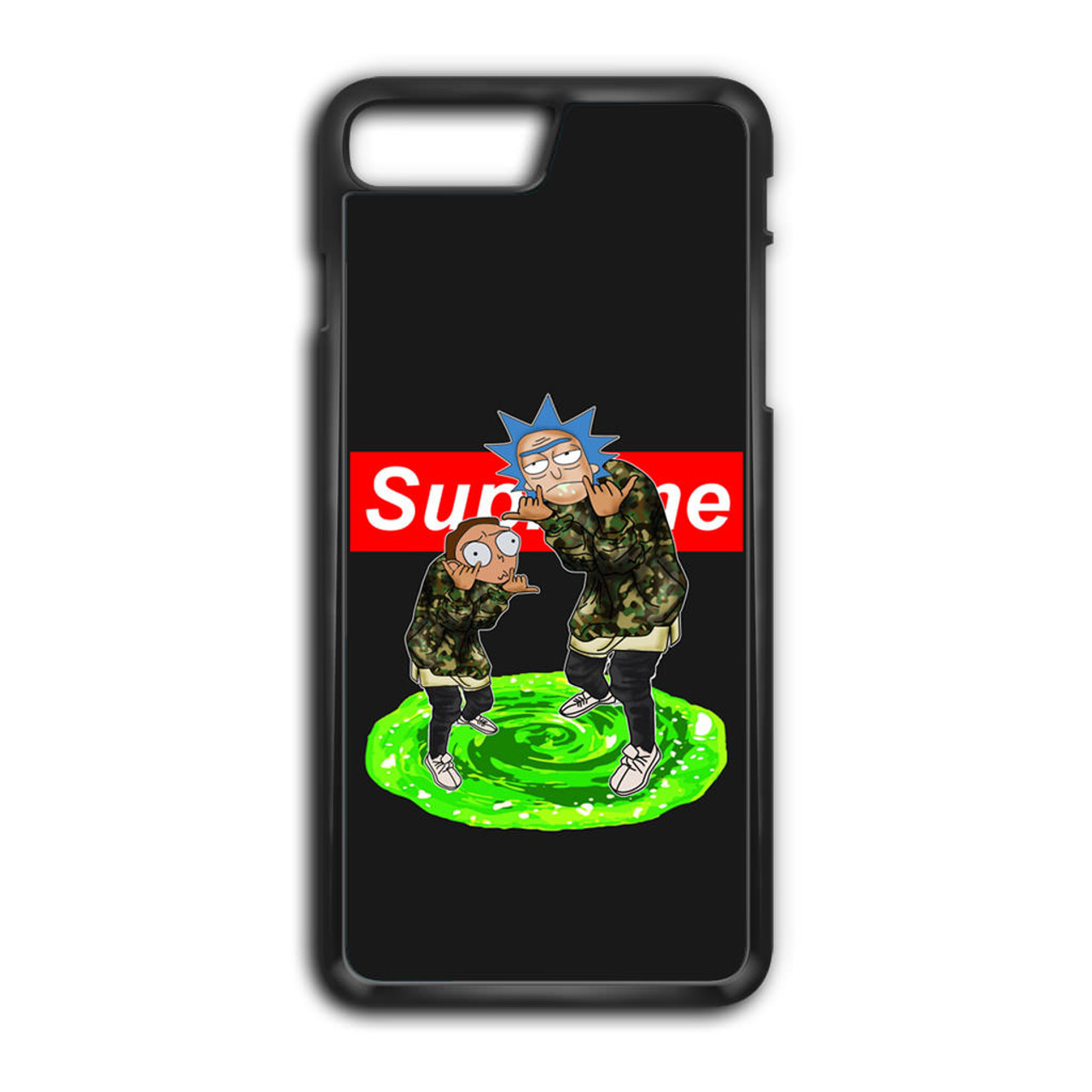 Rick and Morty Supreme iPhone 7 Plus Case