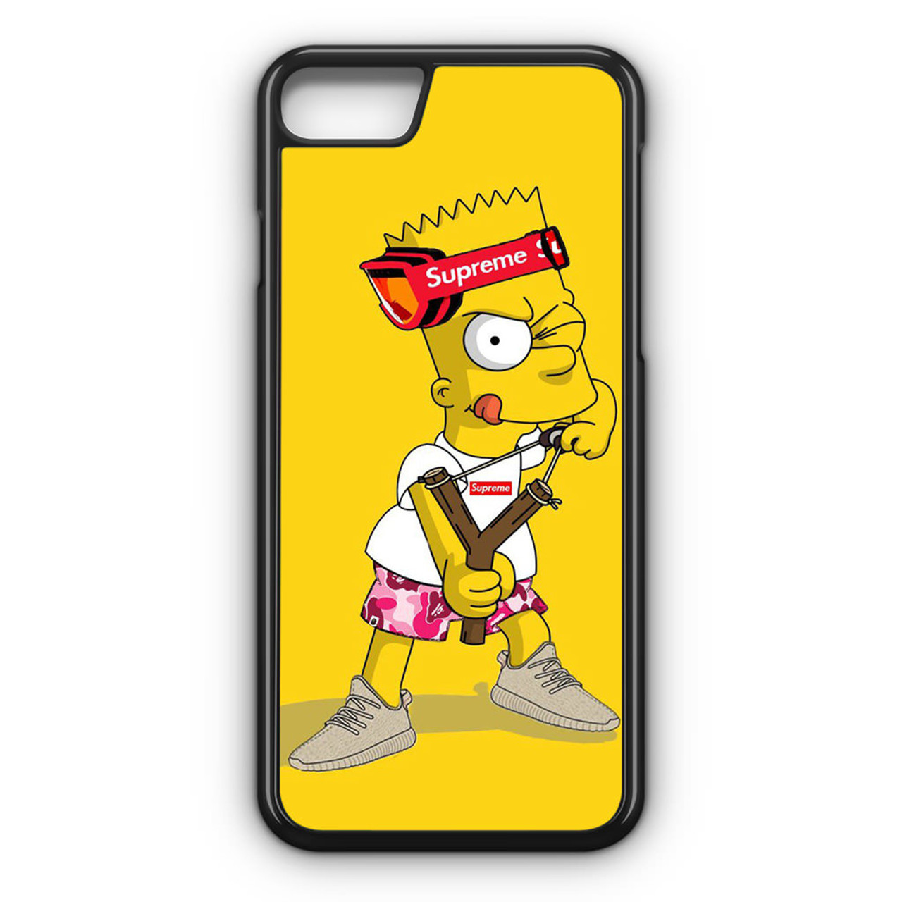 Explore Bart Simpson Supreme Iphone 8 Case