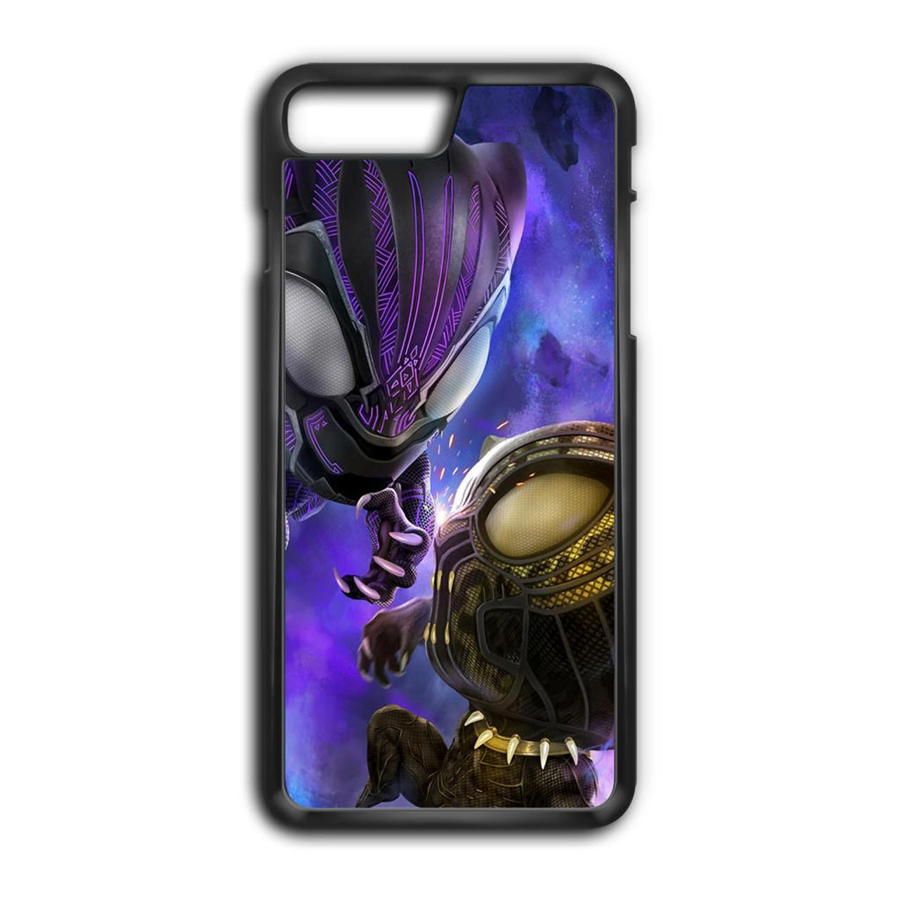 more photos 70df4 aab2d Chibi Black Panther iPhone 8 Plus Case