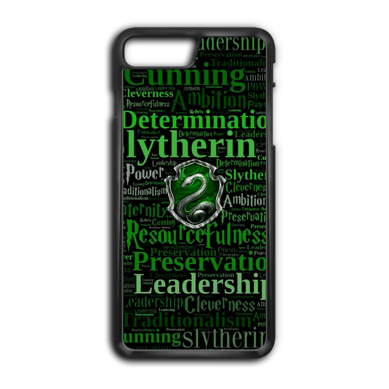 online store 6714c 1e165 Slytherin Quote Logo iPhone 8 Plus Case