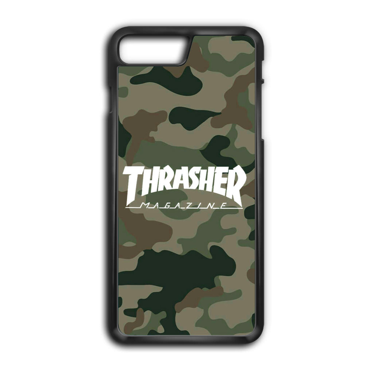 new york 716a4 87999 Thrasher Magazine Bape Camo iPhone 8 Plus Case