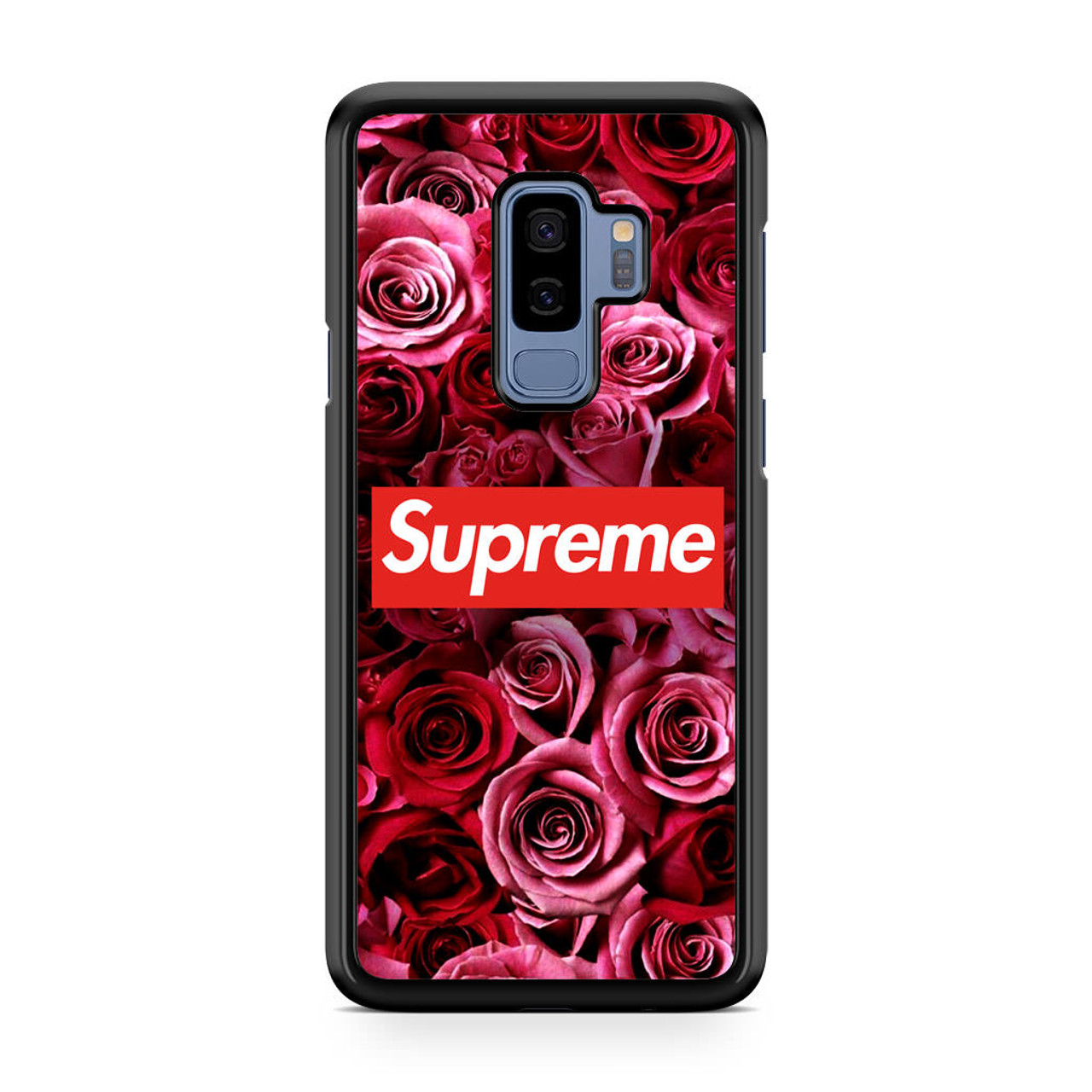 sneakers for cheap 87ad3 65b30 Supreme In Roses Samsung Galaxy S9 Plus Case