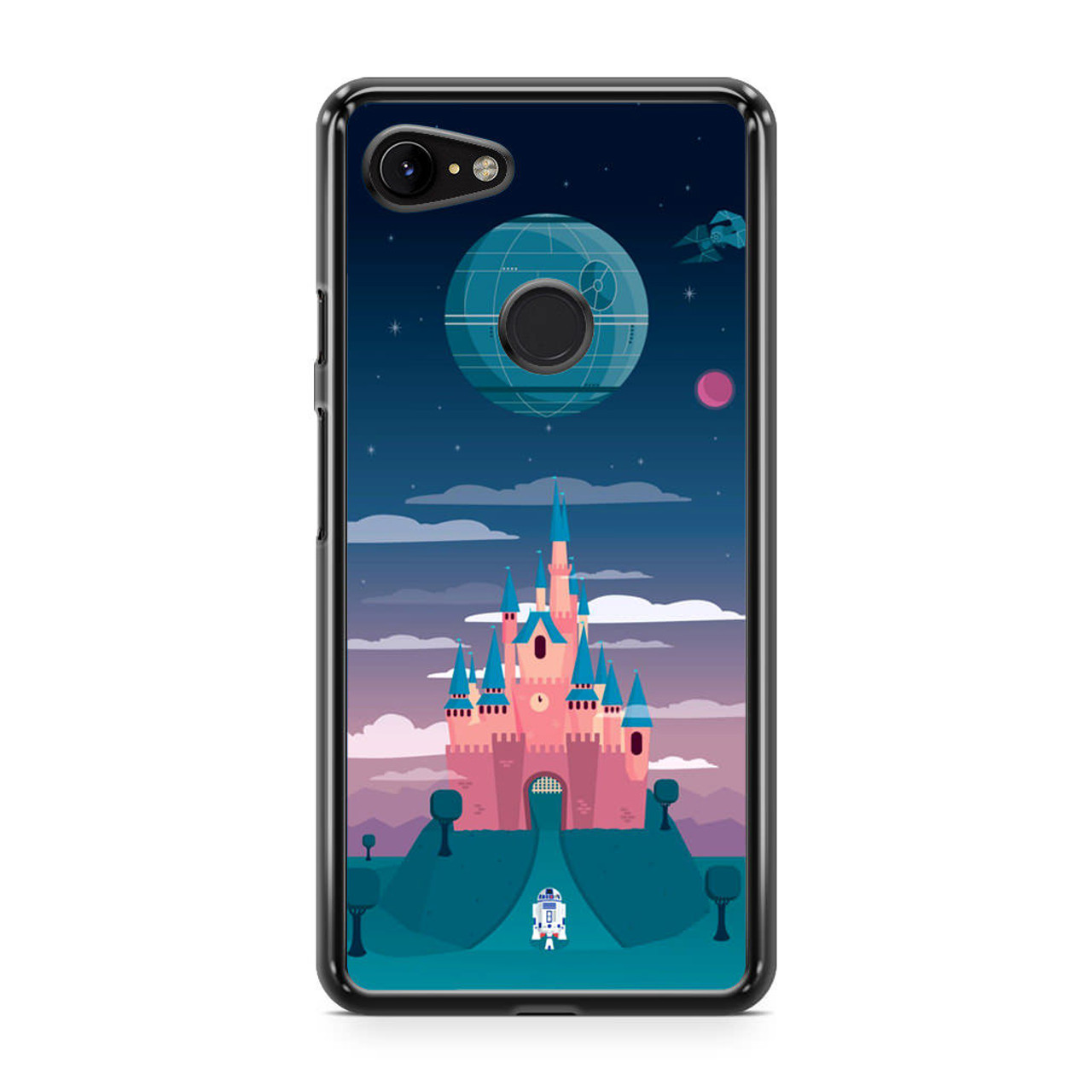 hot sale online 22e52 cf9a7 Disney Star Wars Castle Google Pixel 3 XL Case