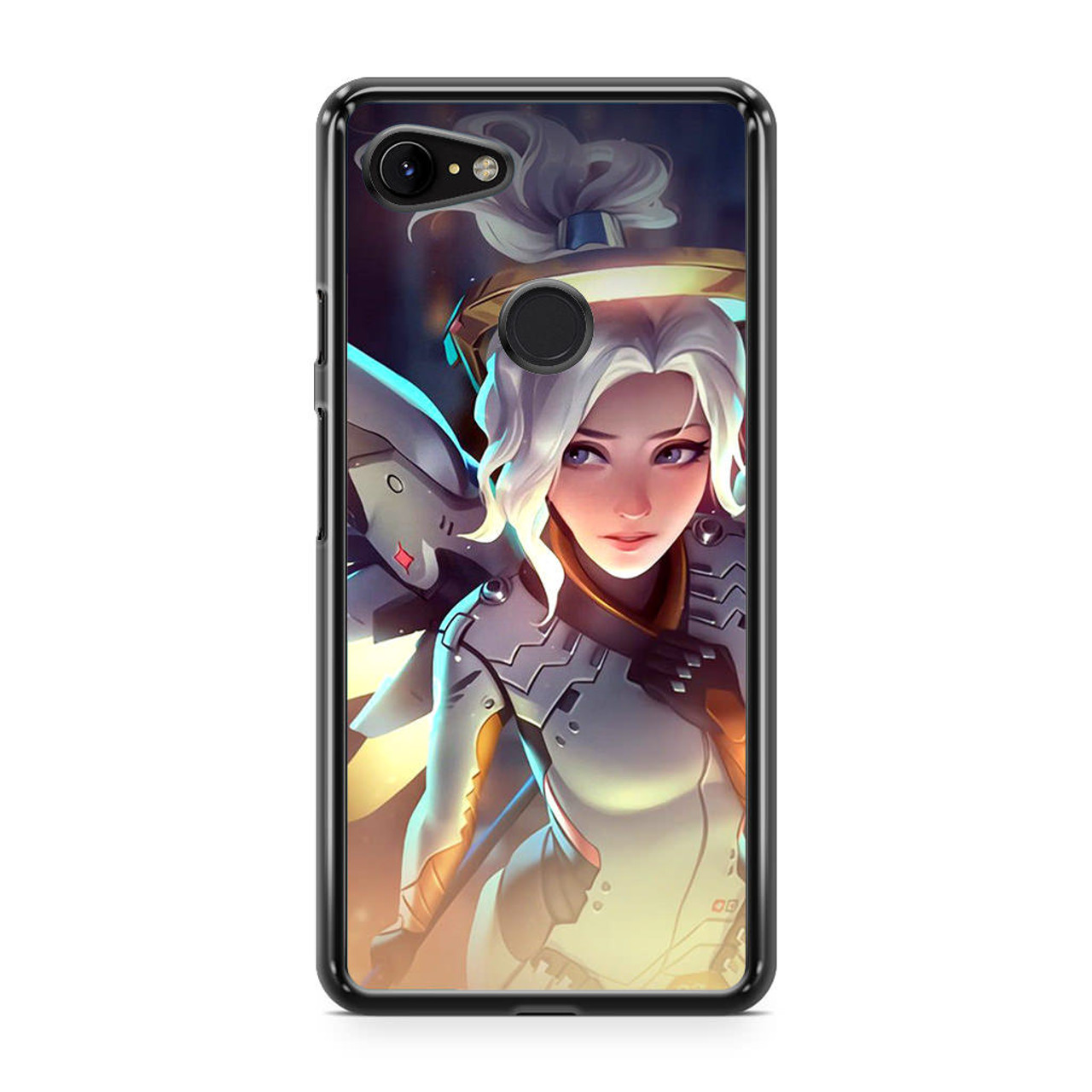 Mercy Overwatch Angel Healer phone case for iPhone /& samsung galaxy//note pixel