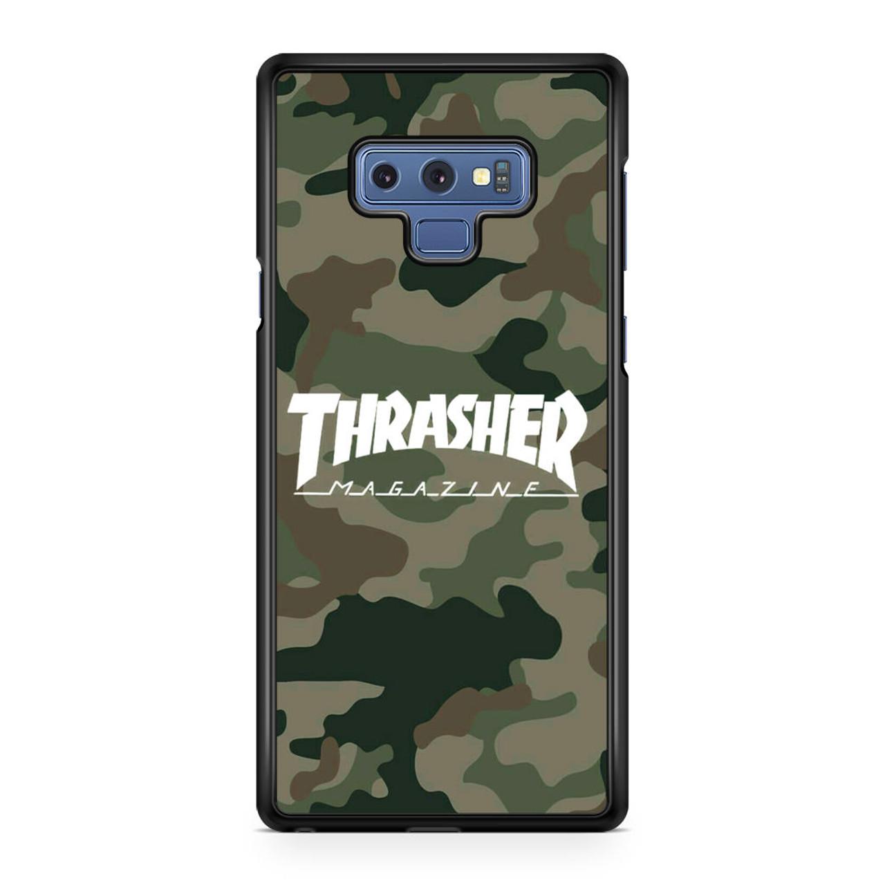 the best attitude d3375 ab314 Thrasher Magazine Bape Camo Samsung Galaxy Note 9 Case