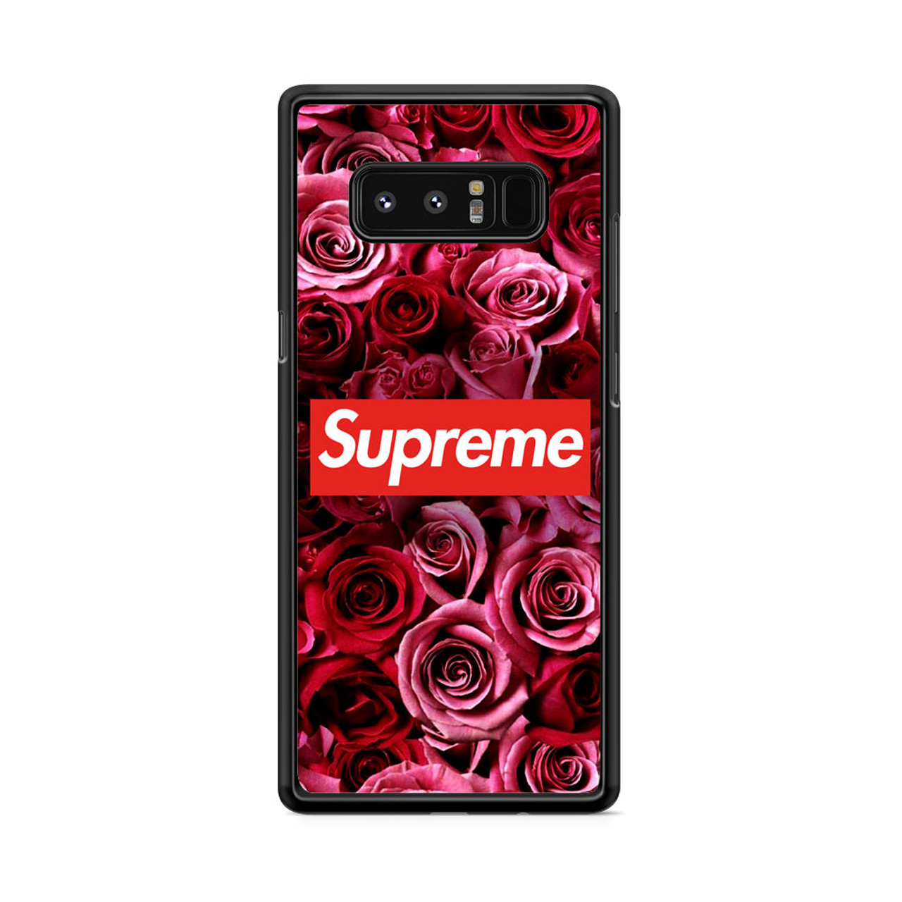 new arrival dcf90 6176b Supreme In Roses Samsung Galaxy Note 8 Case