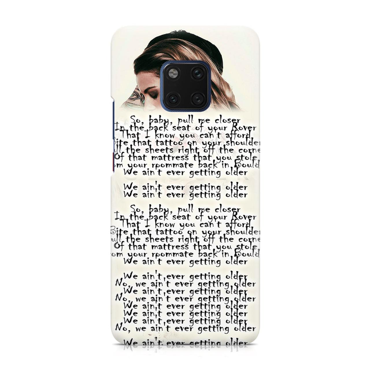 The Chainsmoker Closer Lyrics Huawei Mate 20 Pro Case Caseshunter