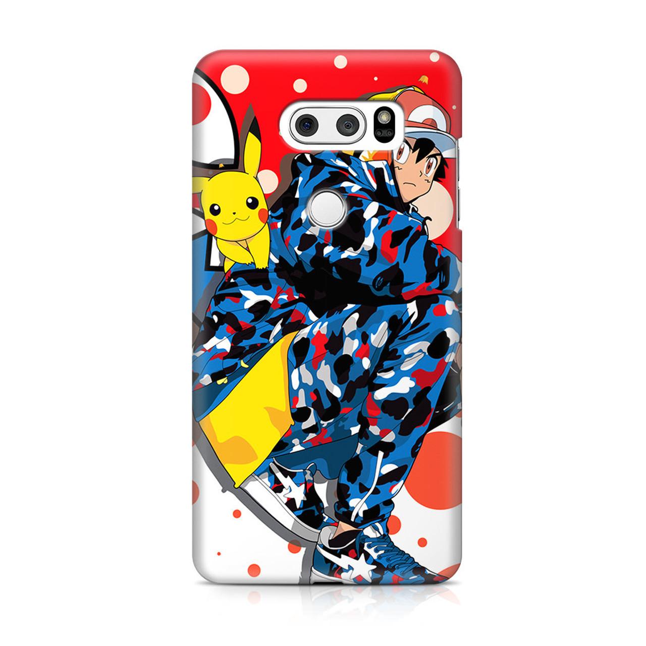 new concept 33515 5e145 Bape Supreme Pikachu LG V30 Case