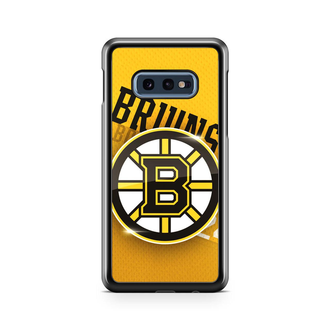 boston bruins logo galaxy iphone case