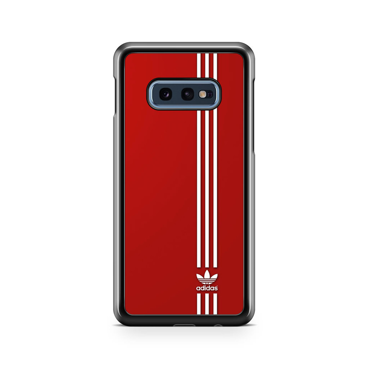 check out top brands another chance Brand Adidas Red White Sport Samsung Galaxy S10e Case