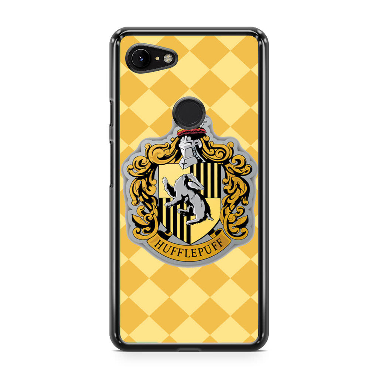 on sale 88ccd 860a7 Hoghwart School - Hufflepuff Google Pixel 3 Case