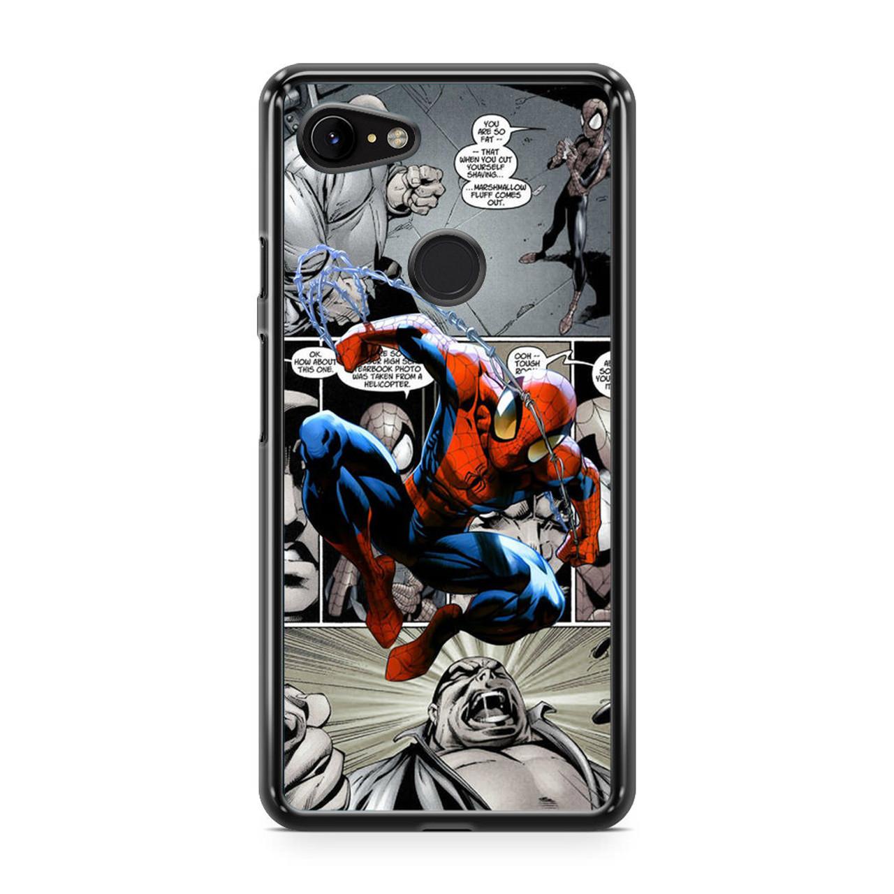 Spiderman Comics Wallpaper Google Pixel 3 Case