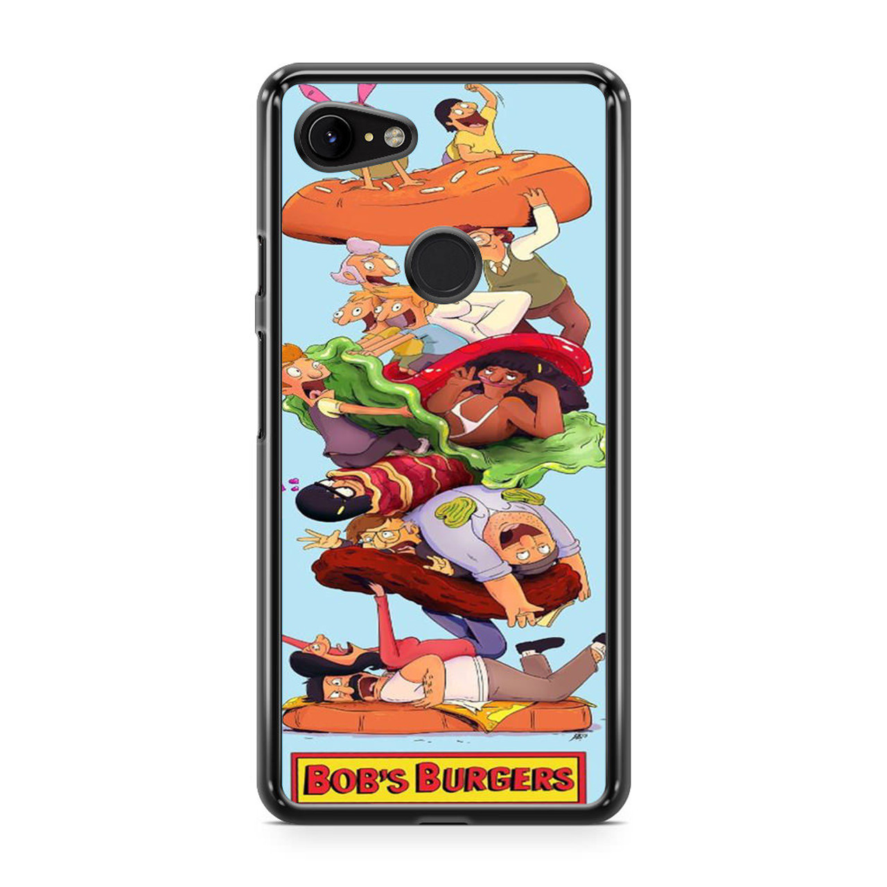 Bobs Burgers Family 3 iphone case