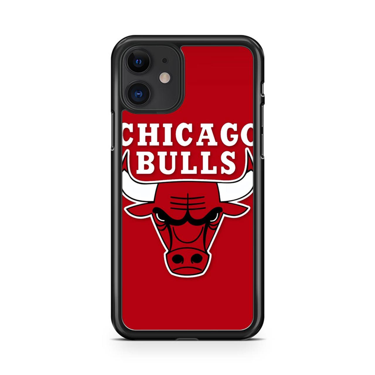 Chicago Bulls Logo Nba iPhone 11 Case