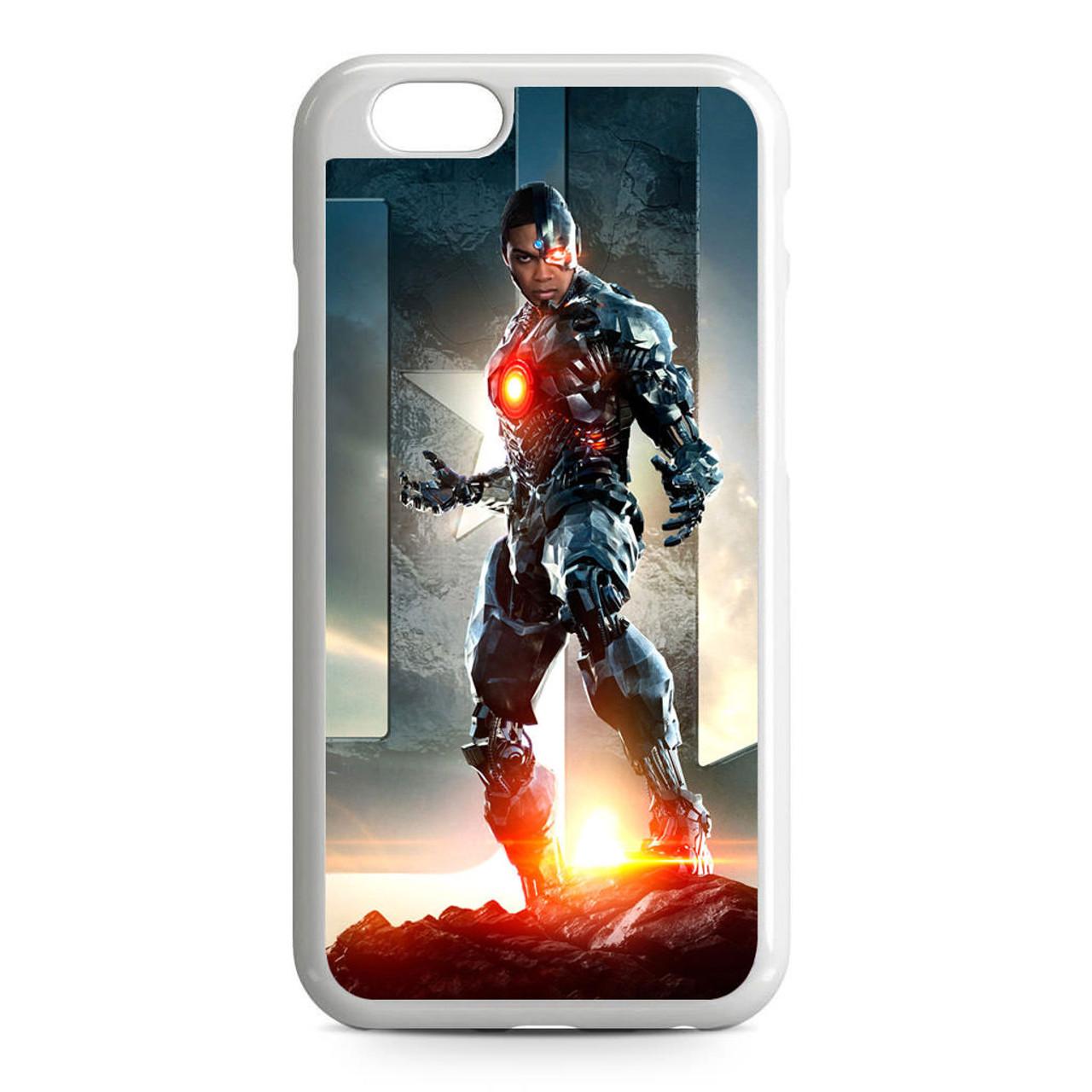 Justice League Unite Cyborg iPhone 6/6S Case