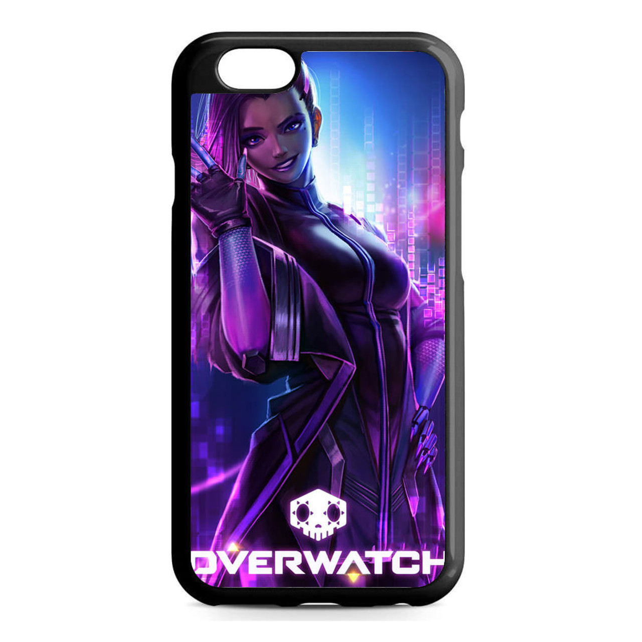 official photos c5c20 c2245 Overwatch Sombra iPhone 6/6S Case