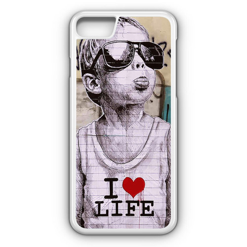 banksy iphone 7 case