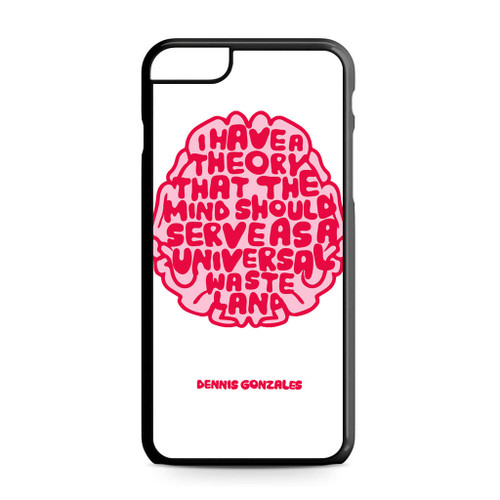 Dennis Gonzales I Have A Theory iPhone 6 Plus 6S Plus Case fa45695b1