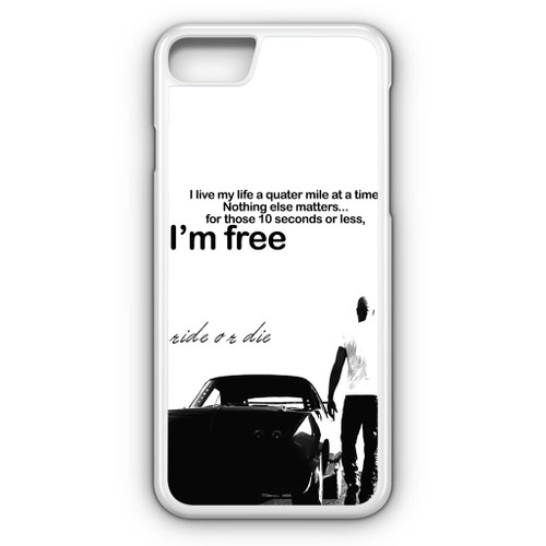 Dominic Toretto Quotes iPhone 8 Case - CASESHUNTER eebb63a09