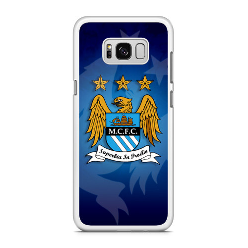 Manchester City Art Samsung Galaxy S8 Case Caseshunter