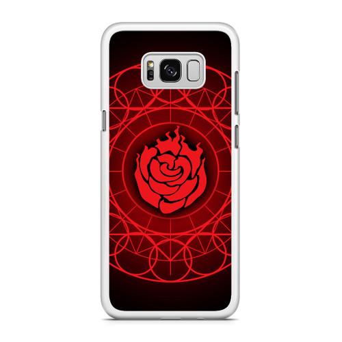 Ruby Rose Symbol RWBY Samsung Galaxy S8 Case