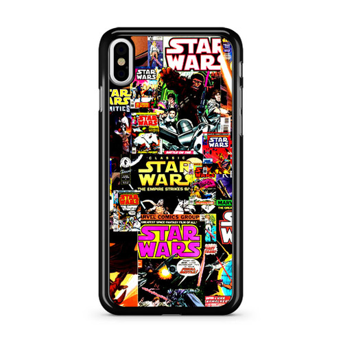 Star Wars Comic Colage iPhone 8 Case - CASESHUNTER