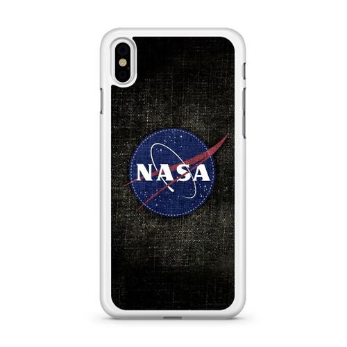 detailed look 0ce5f 29216 Nasa Logo iPhone X Case