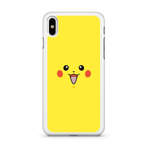 reputable site 58f41 b90e5 Pikachu Pokemon Face iPhone X Case