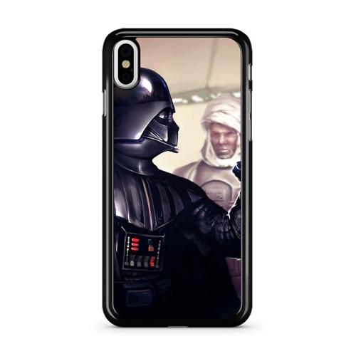 size 40 b8a45 f7011 Starwars Darth Vader Boba Fett Fist iPhone X Case