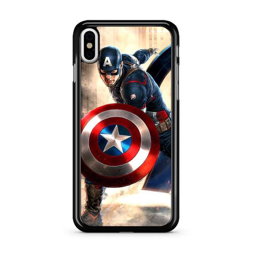 best sneakers 3d72e 76ddf Captain America Avengers iPhone X Case
