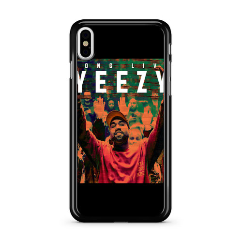 online retailer 58d7a 99d82 Kanye West Yeezy iPhone X Case - CASESHUNTER
