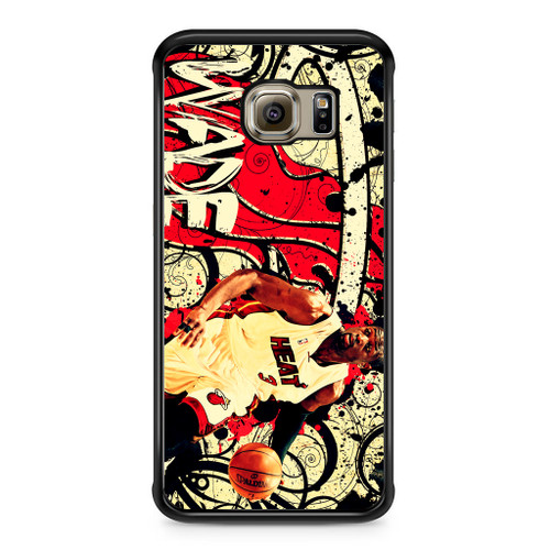 9e8f27674 Miami Heat Dwyane Wade Samsung Galaxy S6 Edge Plus Case - CASESHUNTER