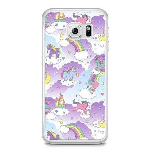 premium selection c857b 30fa8 Unicorn Samsung Galaxy S6 Edge Case