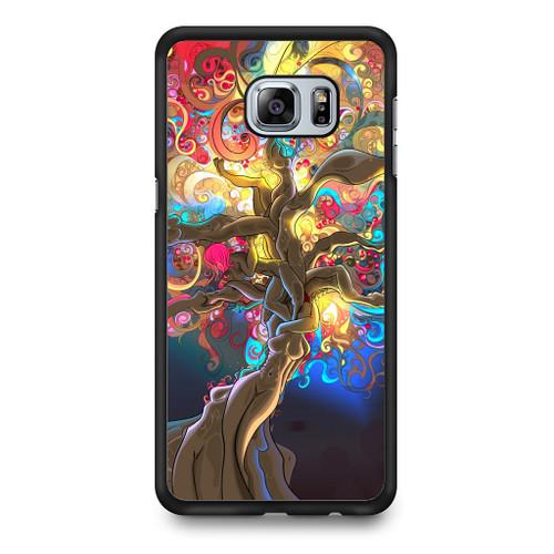 Artistic Psychedelic Womens Tree Samsung Galaxy S6 Edge Plus Case 20f72ea1d8