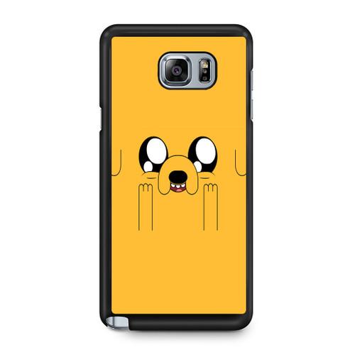 5580a1ebcf8 Advanture Time Jake The Dog Samsung Galaxy Note 5 Case