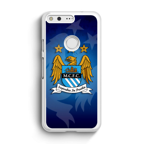 Manchester City Art Google Pixel Case Caseshunter