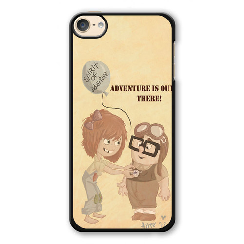 31732859cd2 Adventure is Out There with Charlie and Ellie iPod Touch 6 Case
