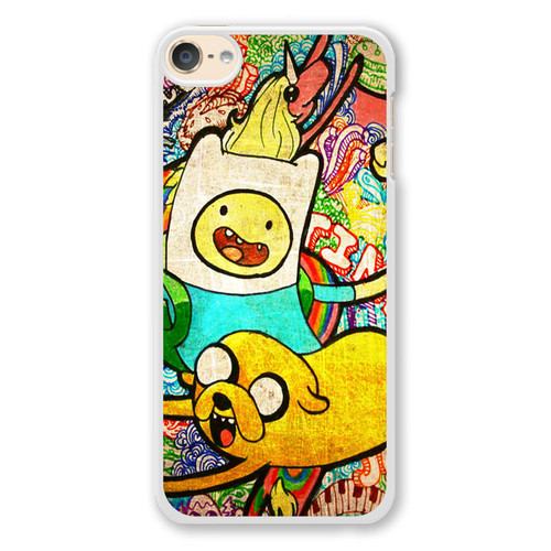 Cartoon Network Adventure Time Jake And Finn Ipod Touch 6 Case Caseshunter