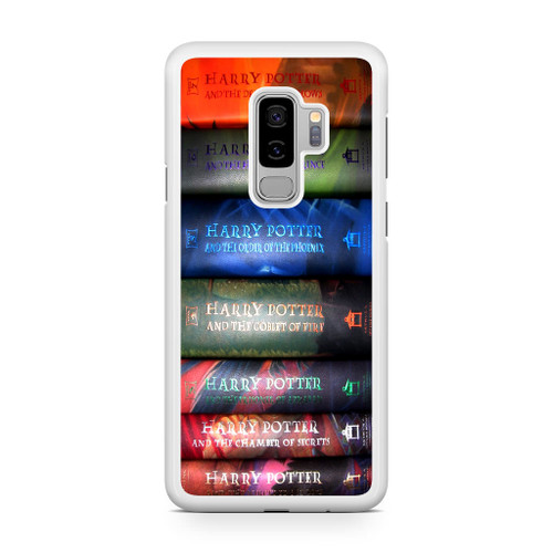 51c962b4d02 Harry Potter All 7 Book Samsung Galaxy S9 Plus Case - CASESHUNTER