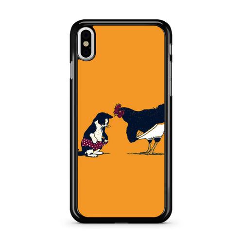 Cat Chicken Yellow Underwear Cute Iphone Xs Case Caseshunter