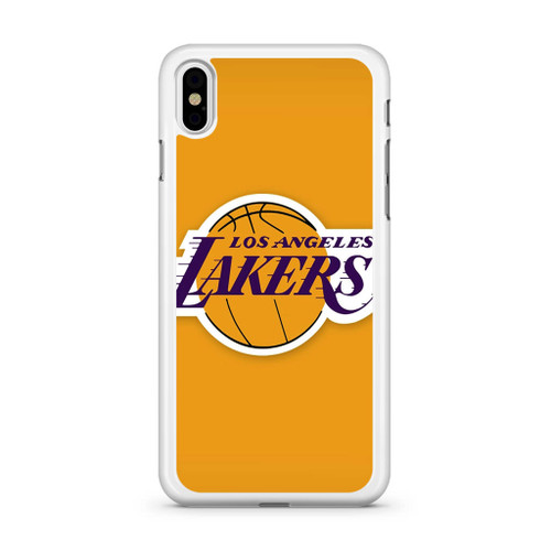 buy online a567f 37aad Los Angeles Lakers Logo Nba iPhone Xs Case